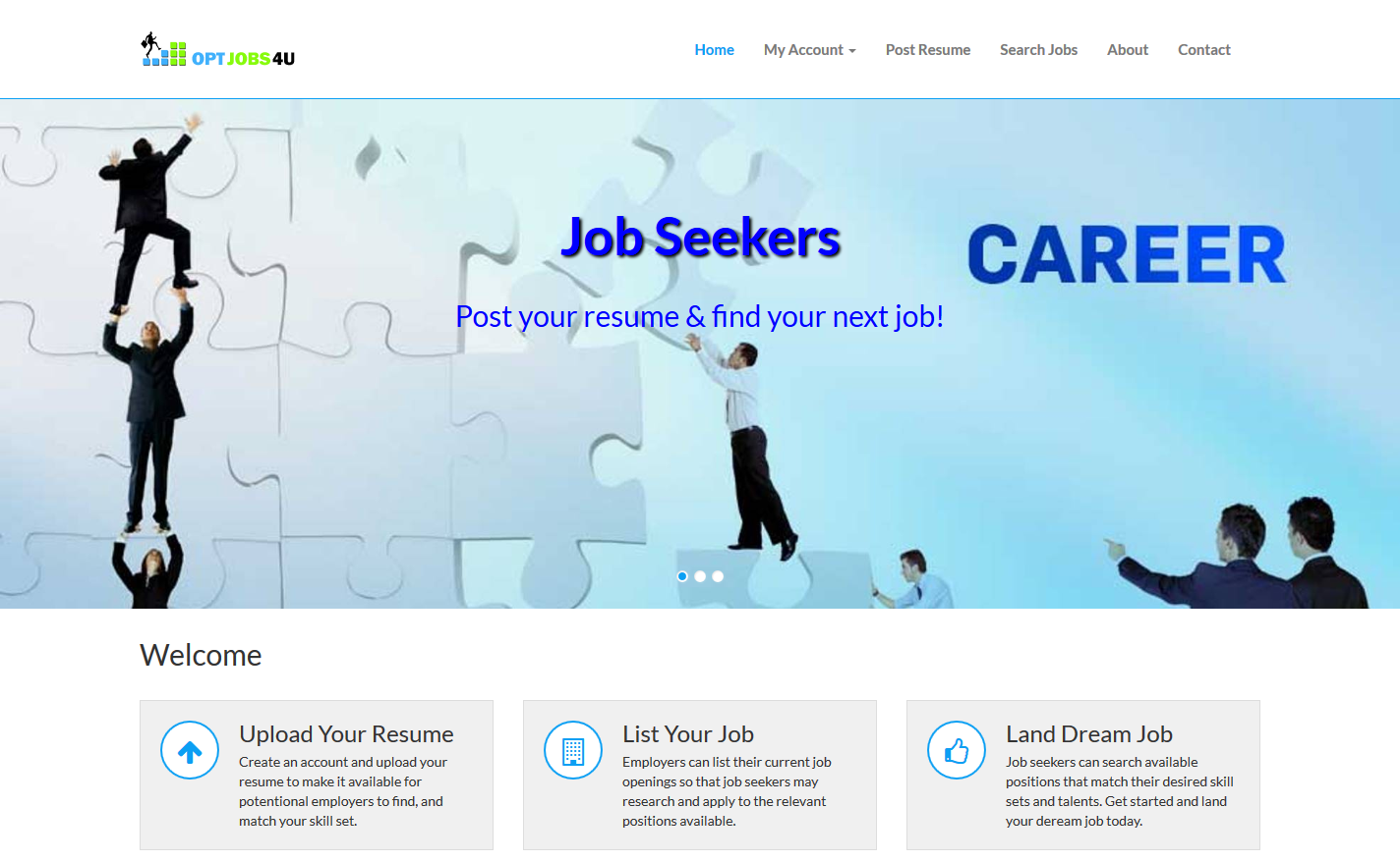 Job Seeker Site