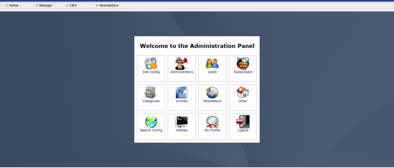 CMS Admin Panel