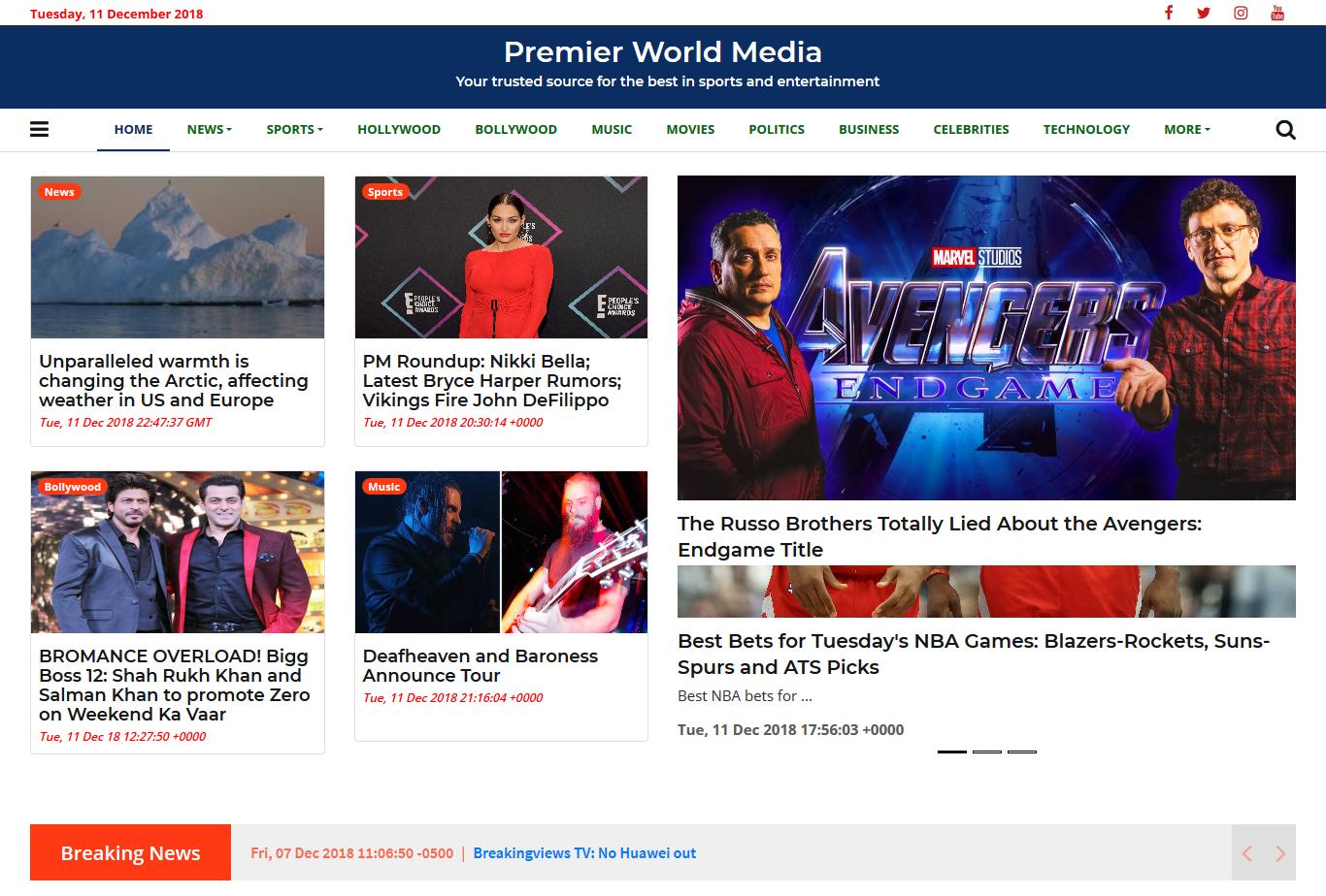Premiere World Media