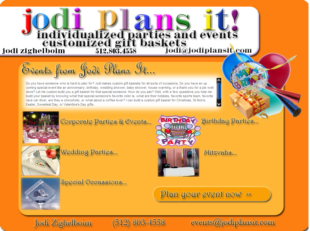 Jodi Plans It