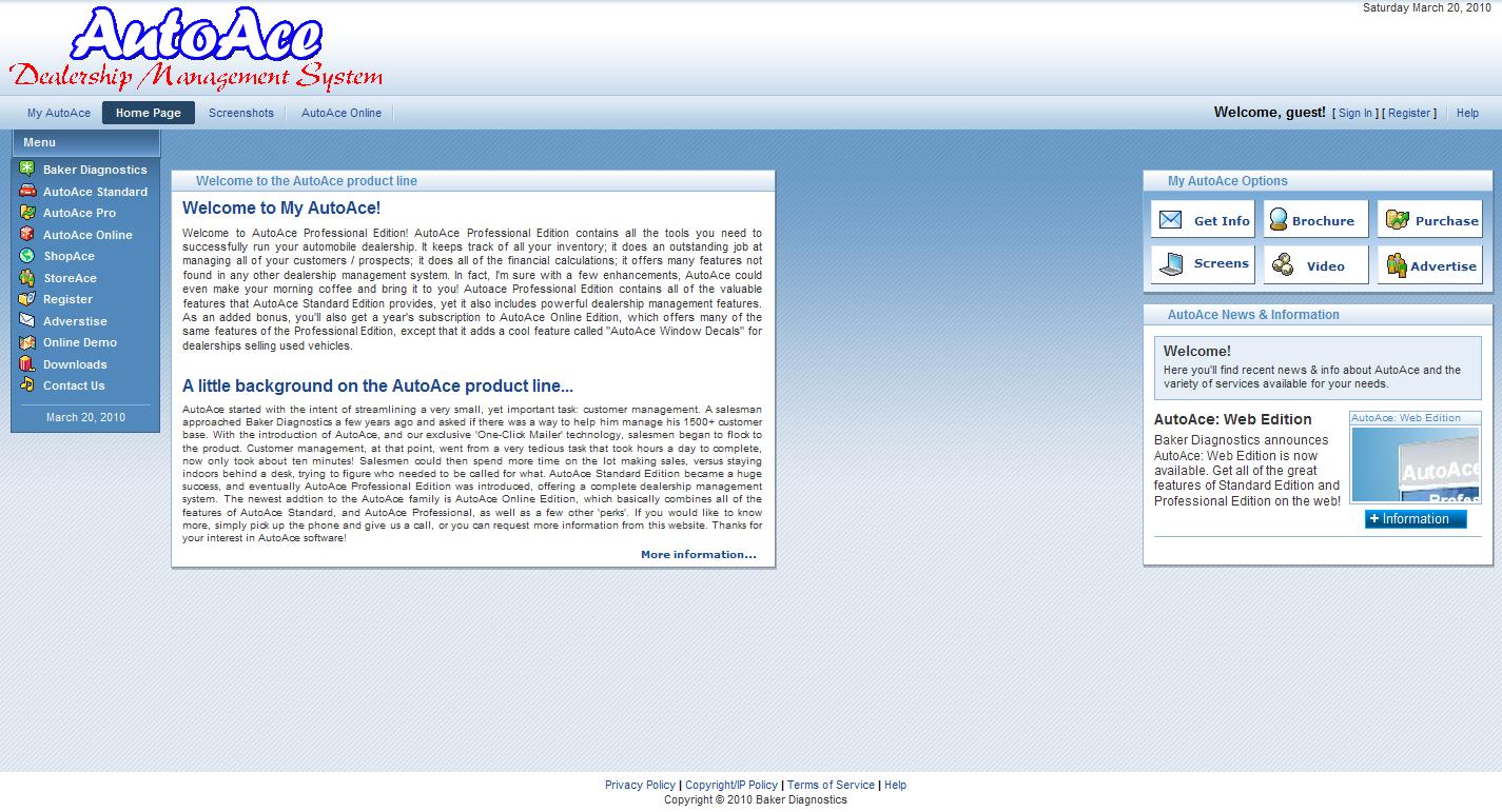 AutoAce Dealership Management System