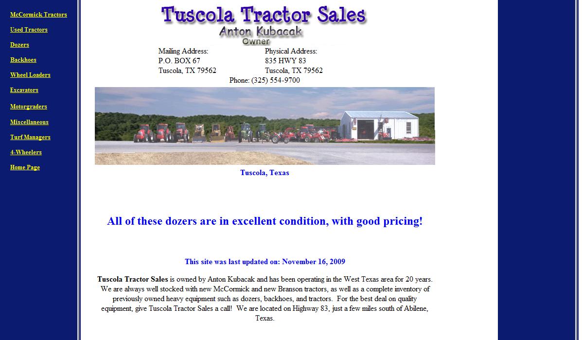 Tuscola Tractor
